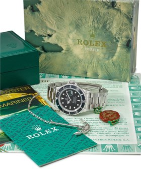 ROLEX A STAINLESS STEEL AUTOMATIC WRISTWATCH WITH SWEEP CENT