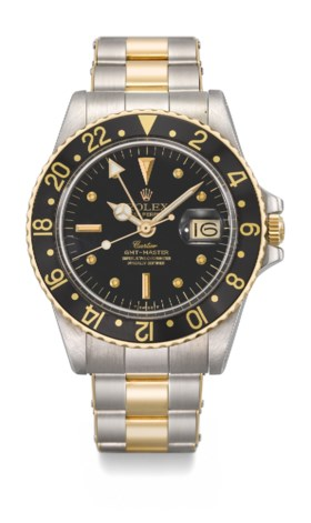 ROLEX AN EXTREMLY RARE AND VERY FINE STAINLESS STEEL AND GOL