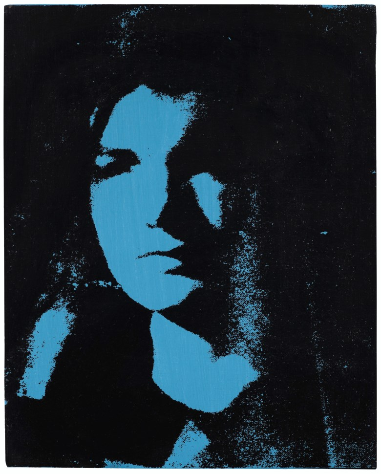Andy Warhol (1928–1987), Jackie, 1964. Acrylic and silkscreen ink on canvas. 20 x 16  in (50.8 x 40.6  cm). Estimate $600,000-800,000. Sold for $615,000 on 5 March 2020 at Christie's in New York