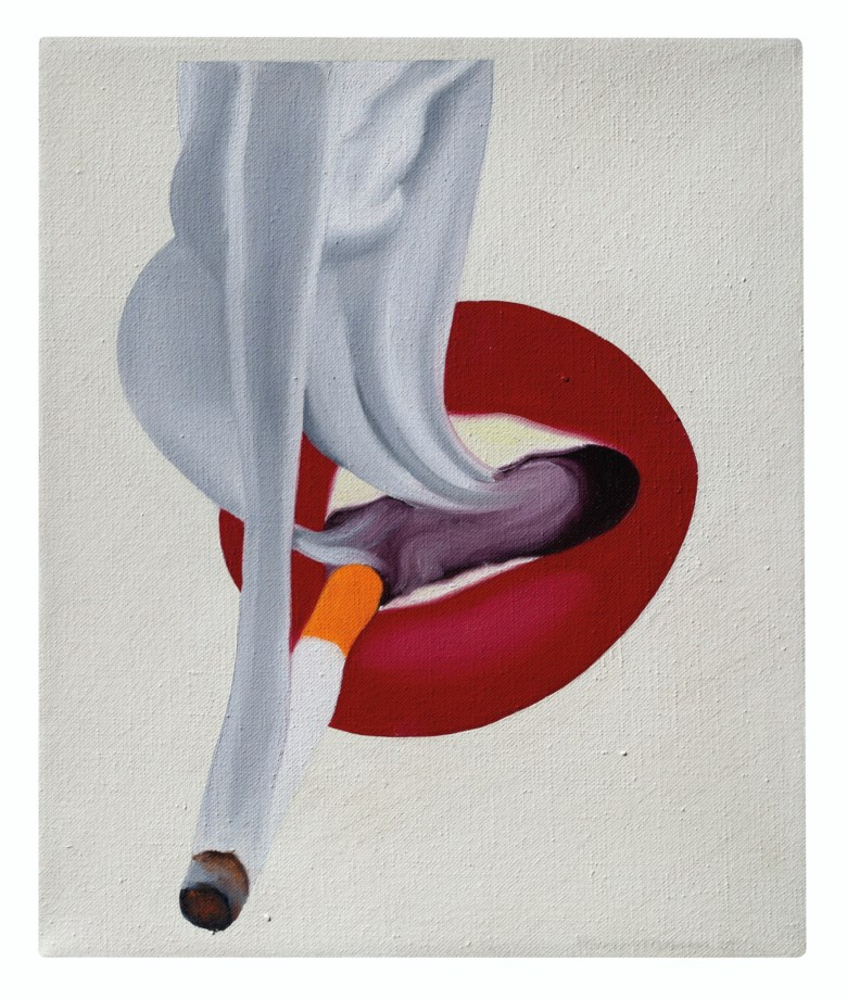 Tom Wesselmann (1931-2004), Study for Mouth #19, painted in 1969. 12 x 10  in (30.5 x 25.5 cm). Estimate $250,000-350,000. Offered in Post-War to Present on 5 March 2020 at Christie's in New York