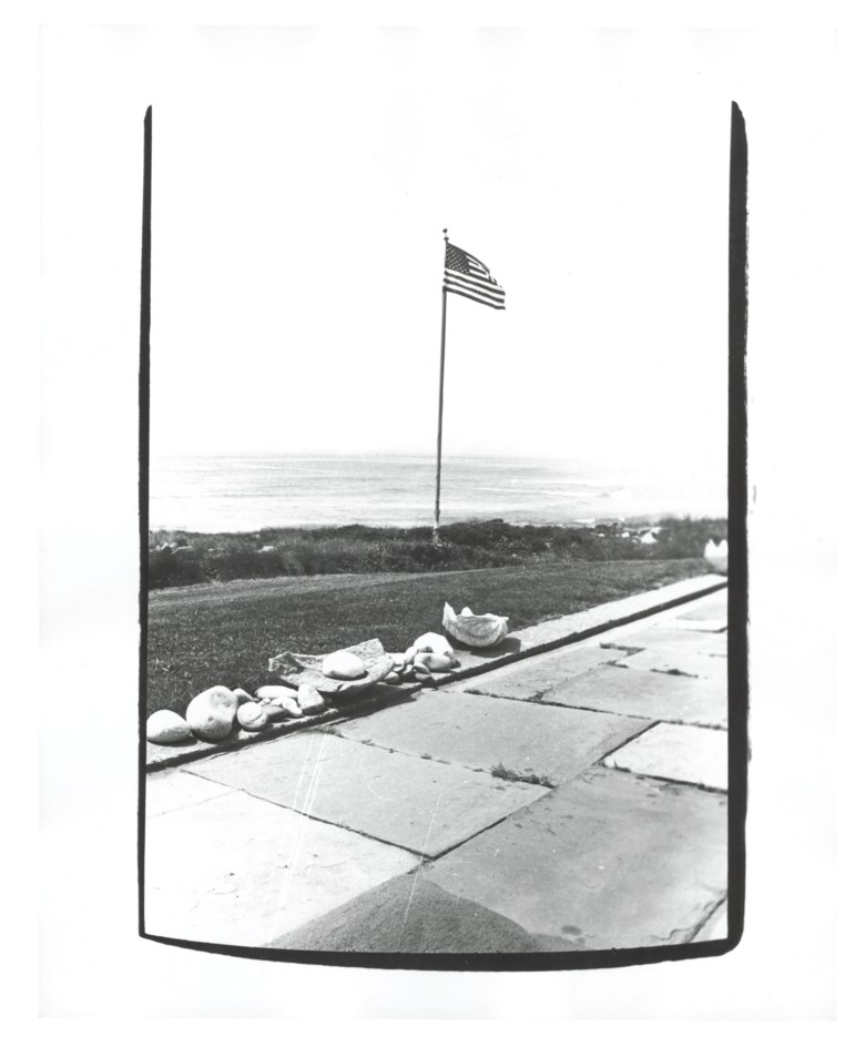 Andy Warhol (1928-1987), Montauk Beach House, 1982. Unique gelatin silver print. 10 x 8 in (25.4 x 20.3 cm). Estimate $2,500-3,500. Offered in Andy Warhol Better Days, 28 April to 6 May 2020, Online. Artwork © 2020 The Andy Warhol Foundation for the Visual Arts, Inc.