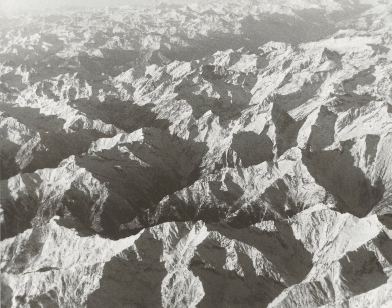 Andy Warhol (1928-1987), Aerial View, 1980. Unique gelatin silver print. 8 x 10 in (20.3 x 25.4 cm). Estimate $2,500-3,500. Offered in Andy Warhol Better Days, 28 April to 6 May 2020, Online. Artwork © 2020 The Andy Warhol Foundation for the Visual Arts, Inc.