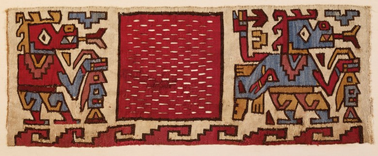 Huarmey textile band, medium horizon, circa 600-900 AD. Length 15⅛ in (38.5 cm). Estimate €9,000-12,000. Offered in Pre-Columbian Art on 2 June 2020 at Christie's in Paris