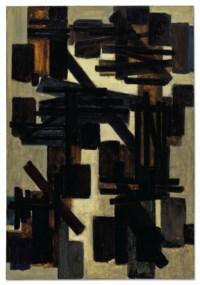 Peinture 130 x 89 cm, 25 novembre 1950