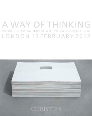 A Way of Thinking, Works From  auction at Christies