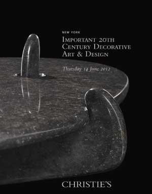 Important 20th Century Decorat auction at Christies