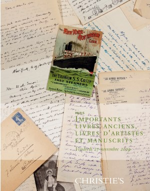 Importants Livres Anciens, Liv auction at Christies