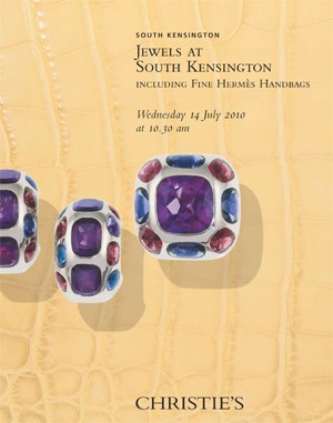 Jewels at South Kensington inc auction at Christies