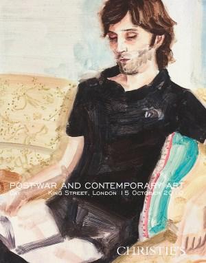 Post-War & Contemporary Art  D auction at Christies