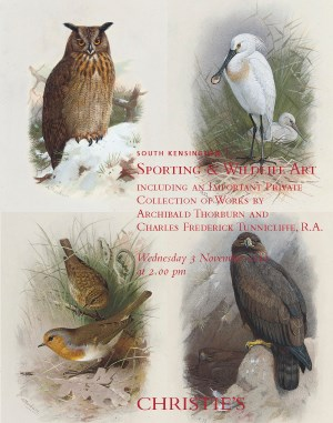 Sporting & Wildlife Art Includ auction at Christies