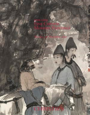 Fine Chinese Modern Paintings auction at Christies