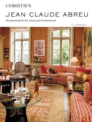 Collection Jean Claude Abreu auction at Christies