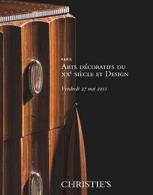 Arts Décoratifs du XXème Siècl auction at Christies