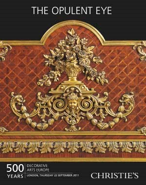 The Opulent Eye - 500 Years De auction at Christies