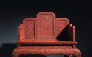 Dragon Throne For The Son of H auction at Christies