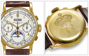 Important Watches: Including C auction at Christies