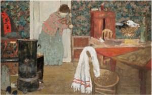 Edouard Vuillard 1868 1940 Le Petit Salon Rue De Naples