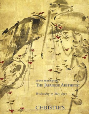 The Japanese Aesthetic auction at Christies
