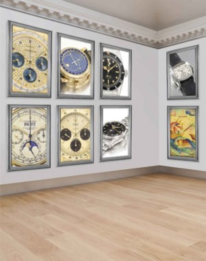 Important Watches including Pr auction at Christies