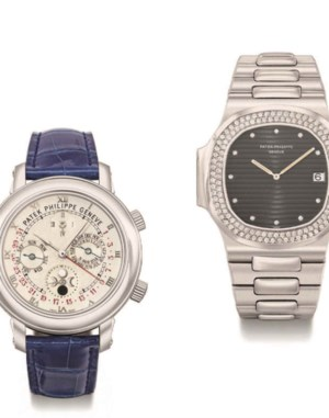 Rare Watches Including Nautilu auction at Christies
