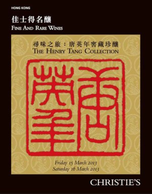 The Henry Tang Collection Part auction at Christies