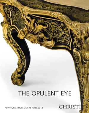 The Opulent Eye auction at Christies
