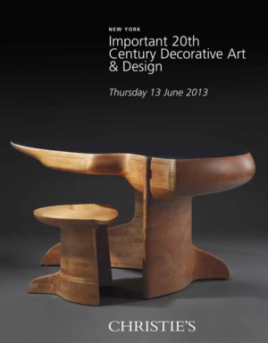 Important 20th Century Decorat auction at Christies