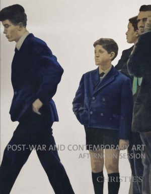 Post-War & Contemporary Aftern auction at Christies