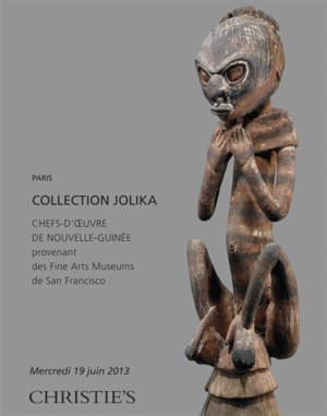 Collection Jolika, chefs-d'oeu auction at Christies
