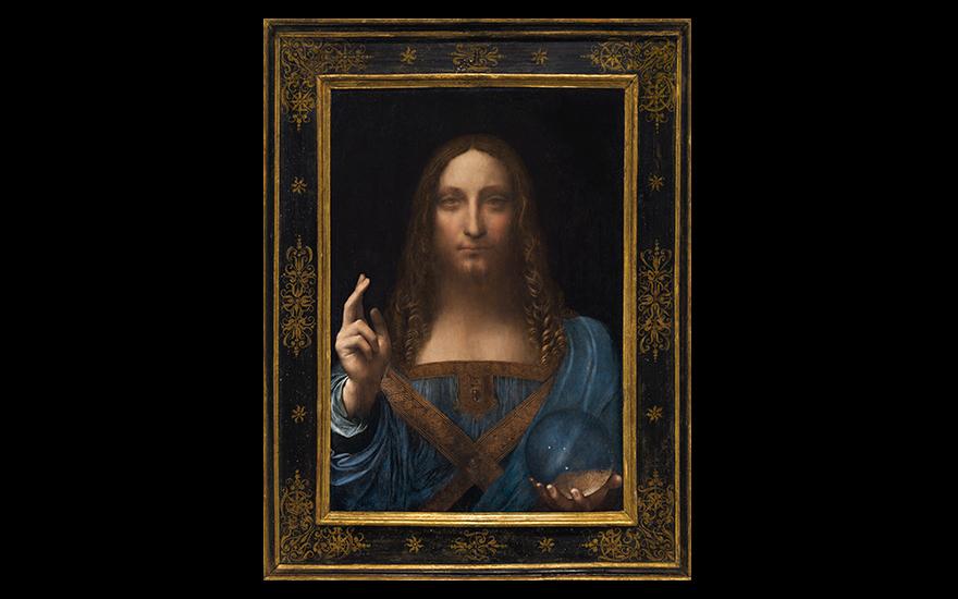 Leonardo makes auction history