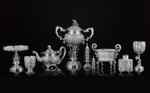 Chinese and Japanese Export Silver Online: Property from the Collection of Myrna and Bernard Posner