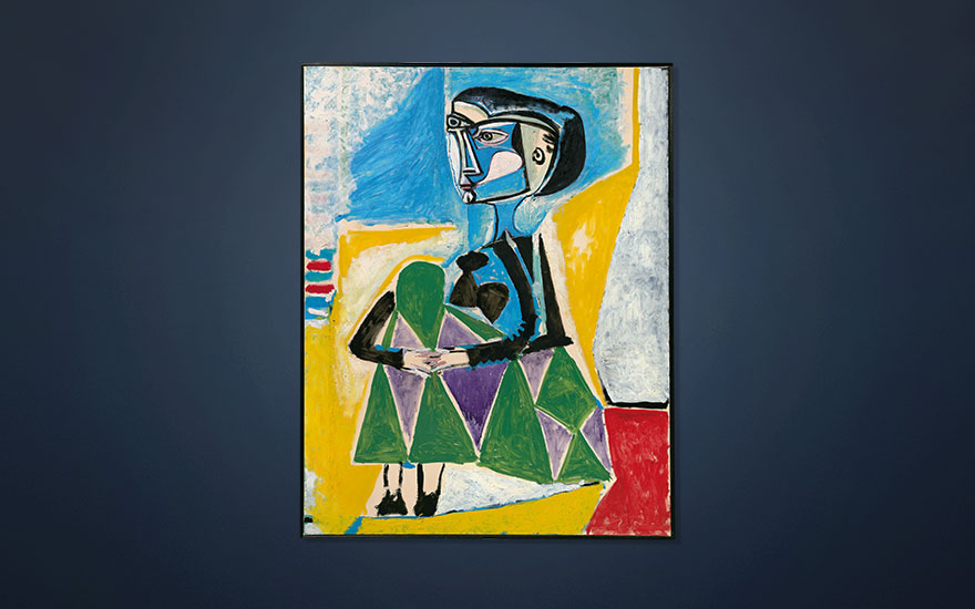 Picasso's new muse, new love