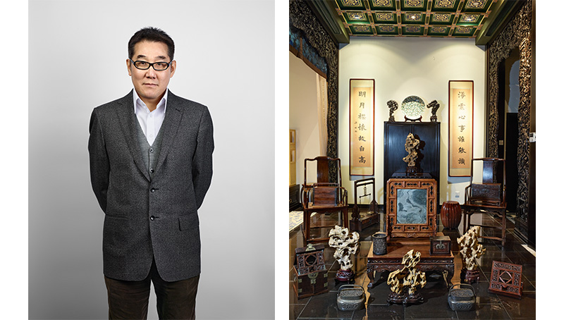 Collectors & their collections Lu Haiyan