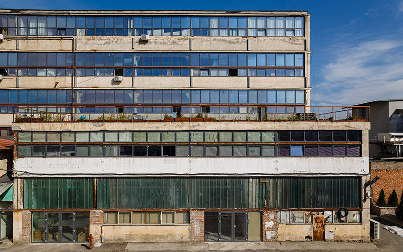 The abandoned paintbrush factory producing art's new superstars