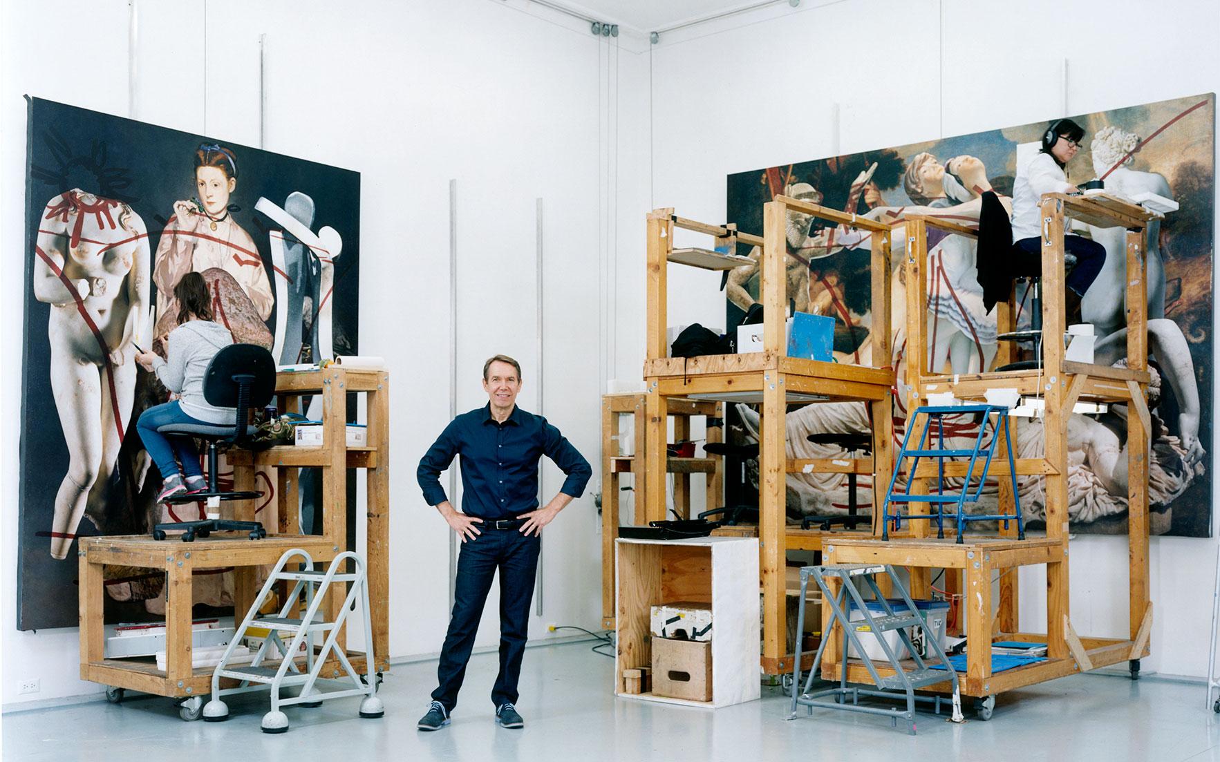 Jeff Koons: 'I love how art ca