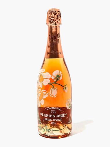 Perrier-Jouët Cuvee Belle Epoque Rosé 1995. Sold for £1,410, 9 August 2016, Online