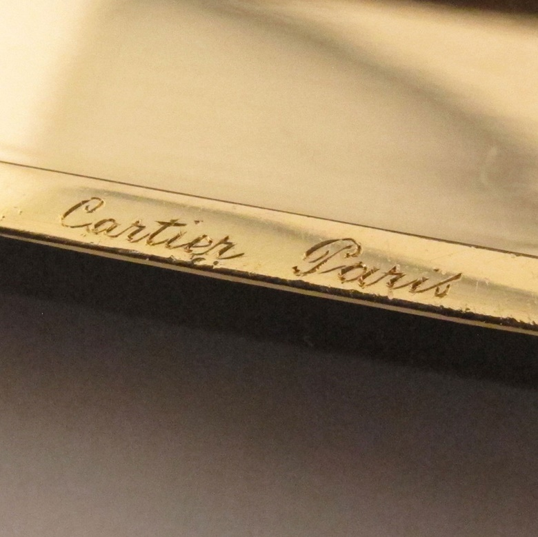 An example of a Cartier signature