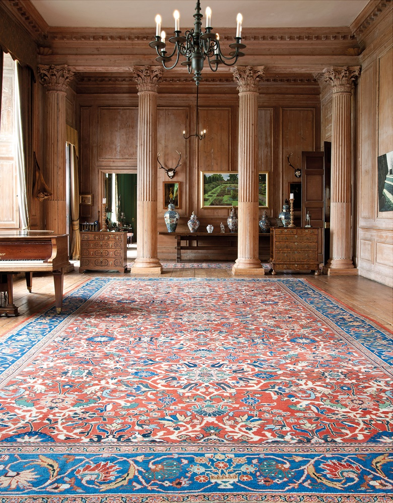 A large Sultanabad carpet. West Persia, c.  1890. 24 ft 1 in x 13 ft 5 in (735 cm x 407 cm). This lot was offered in Oriental Rugs and Carpets on 18 October 2016 at Christie's in London, King Street and sold for £27,500