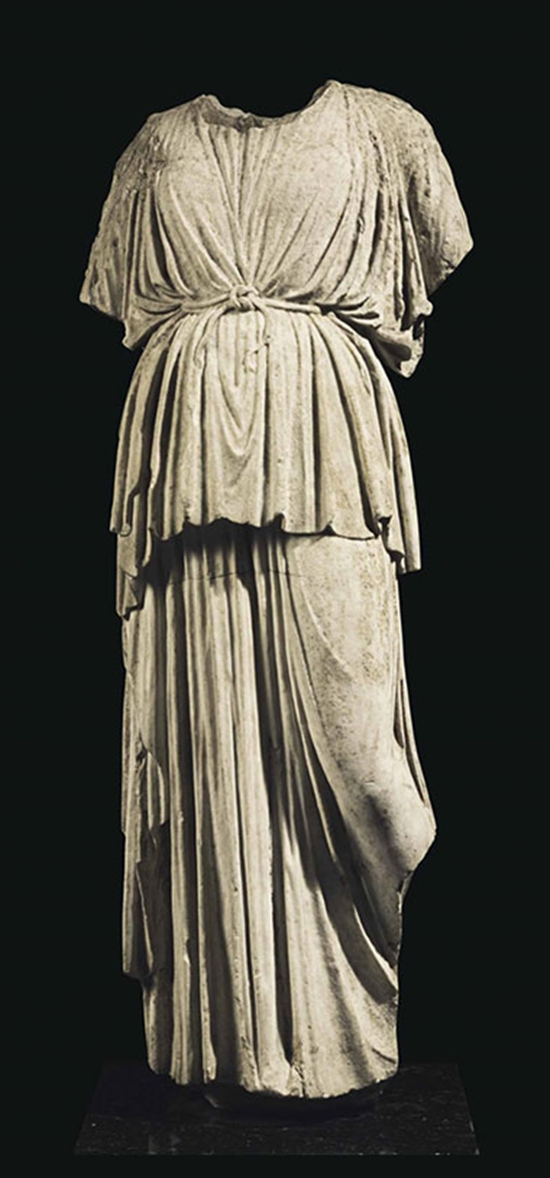 A Roman marble Athena. C. 1st century AD. 54 in (137 cm) high. This lot was offered inAntiquitieson 25 October 2016 at Christie's in New York