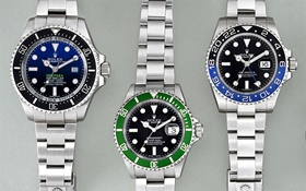 Rolexes with nicknames