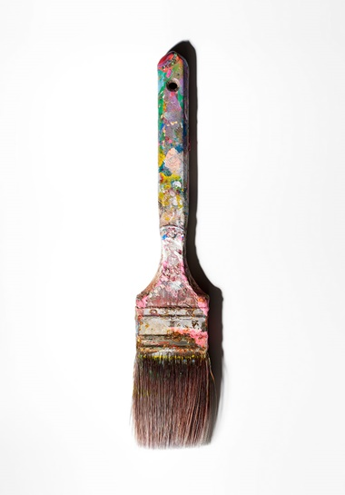Andy Warhol's (1928-1987) paintbrush. Photography Henry Leutwyler