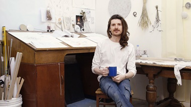 Diego Vanassibara initially studied architecture in his native Brazil before moving to England to train at Cordwainer's. In 2013 he launched his eponymous men's shoe label
