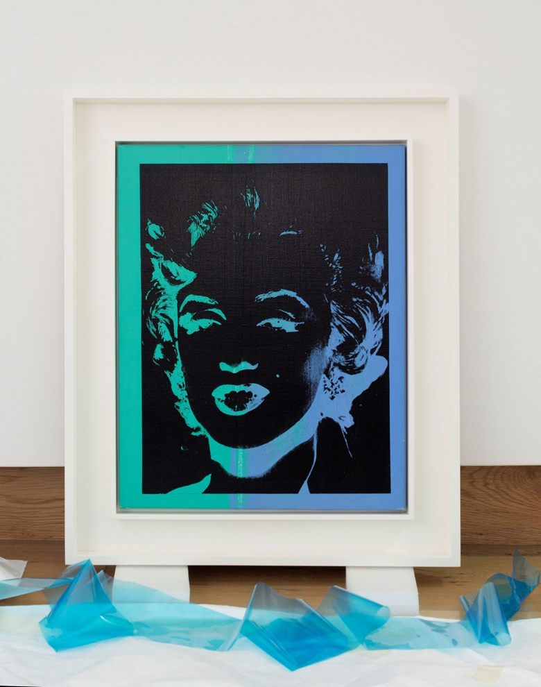 Andy Warhol (1928-1987), Marilyn (Reversal), 1979-1986. Acrylic and silkscreen on canvas, 20⅛ x 15⅞ in (51 x 40.5 cm). Estimate £1,000,000-1,500,000. This work is offered in the Post War & Contemporary Art Evening Auction on 7 March 2017 at Christie's in London