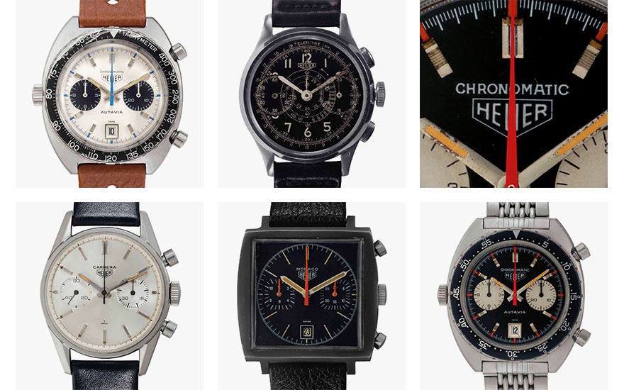 5 reasons collectors love vintage Heuer chronographs