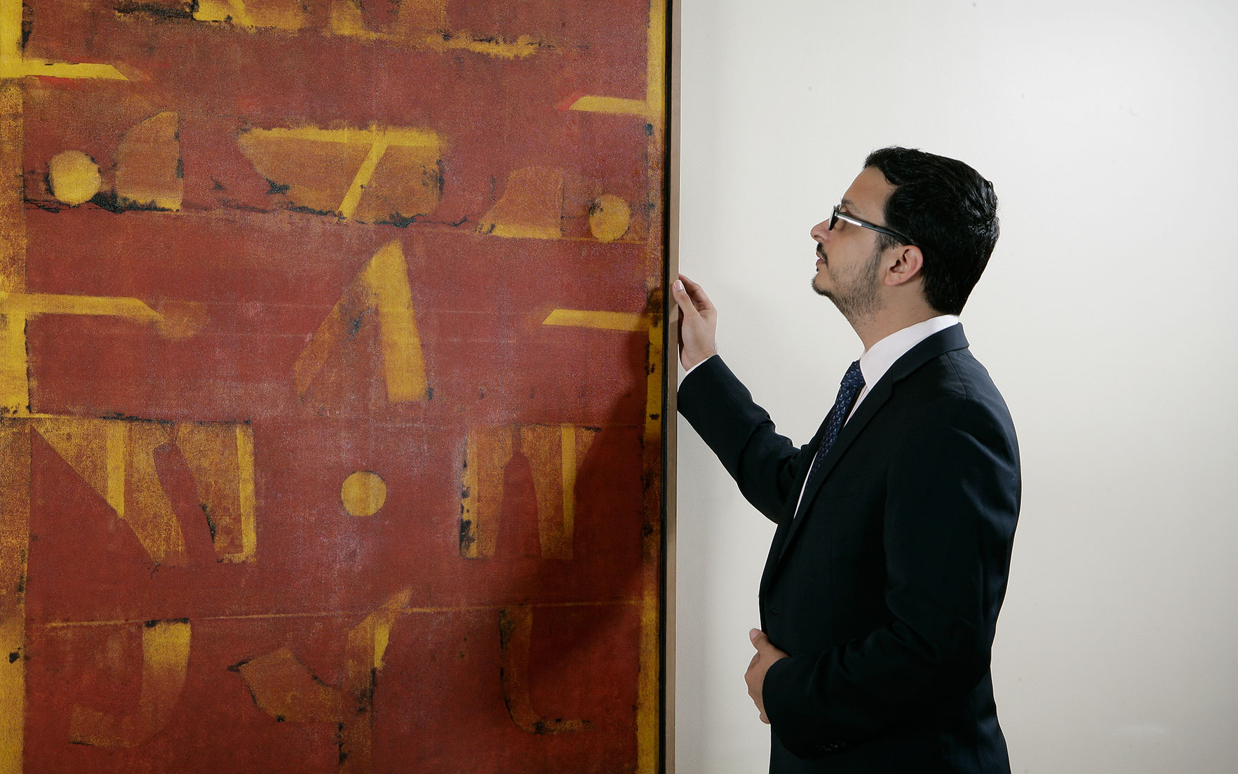 5 minutes with... A masterpiece by V. S. Gaitonde