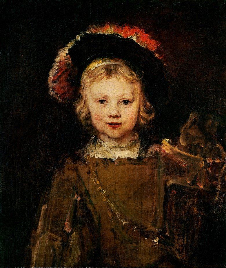 Rembrandt van Rijn (1606-1669), Portrait of the Artist's Son Titus, c. 1655. Oil on canvas. 65 x 56 cm (24½ x 20½ in). Sold for 760,000 guineas on 19 March 1965 at Christies in London. © Norton Simon Foundation, Pasadena, CA, USABridgeman Images