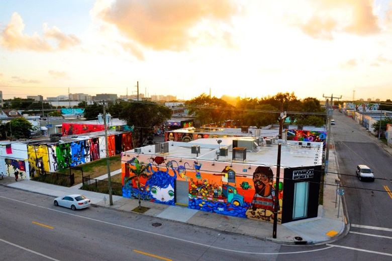 Wynwood Walls, the largest outdoor street art museum in the world