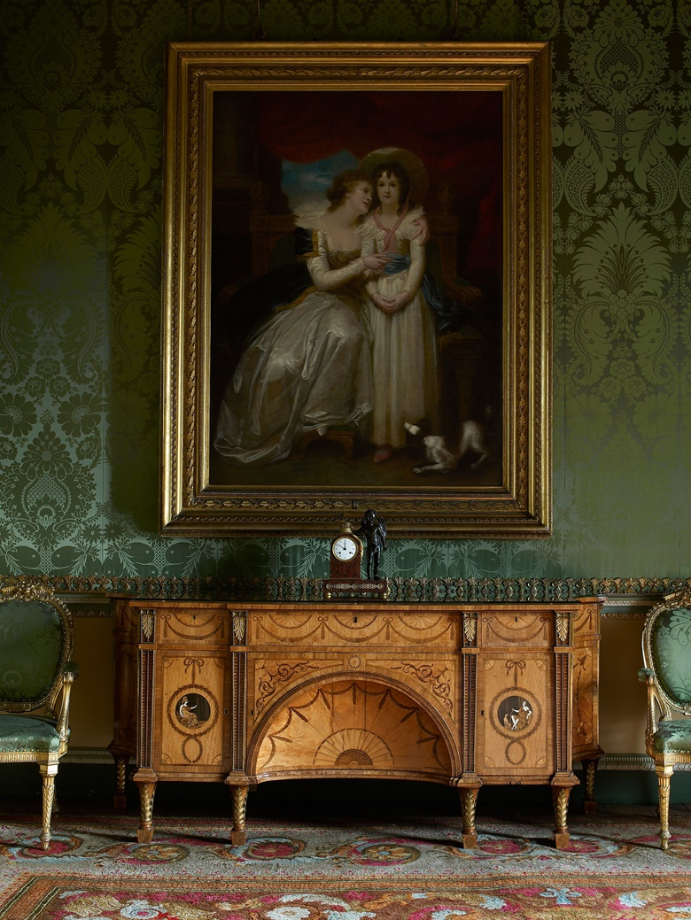 The Diana and Minerva Commode (1773) was designed by Thomas Chippendale Senior for the State Bedroom at Harewood House in Yorkshire. The house was Thomas Chippendale's largest and most extensive commission, and the commode is regarded as one of his greatest works. © Harewood House Trust. Photograph by Paul Barker