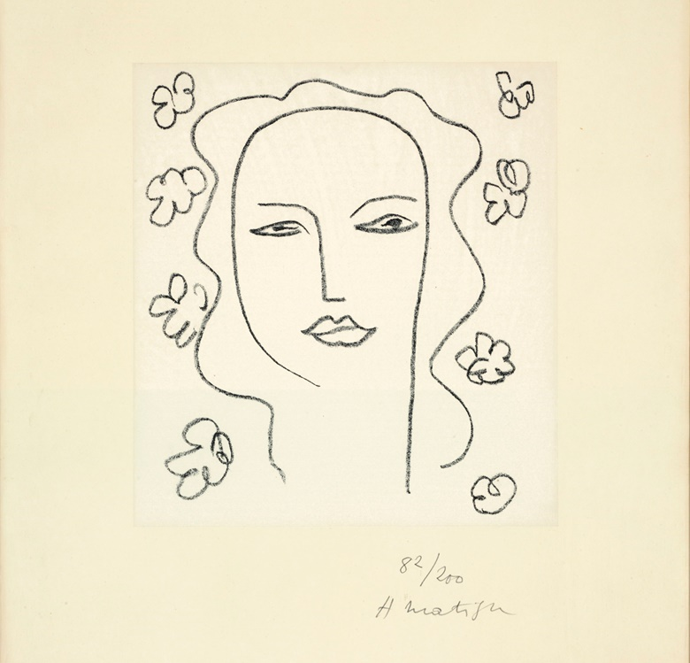 Henri Matisse (1869-1954), Madeleine - Étude. Sheet 19 x 12⅞  in (485 x 327 mm). Estimate $5,000-7,000. This lot is offered in Property from the Estate of Eugene V. Thaw on 30 October 2018 at Christie's in New York