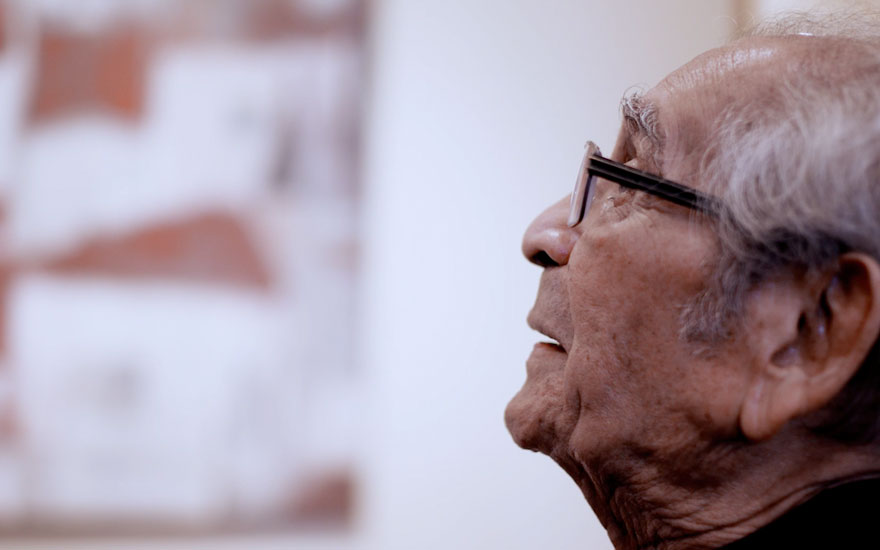 Akbar Padamsee 'Art for me is to express the invisible'